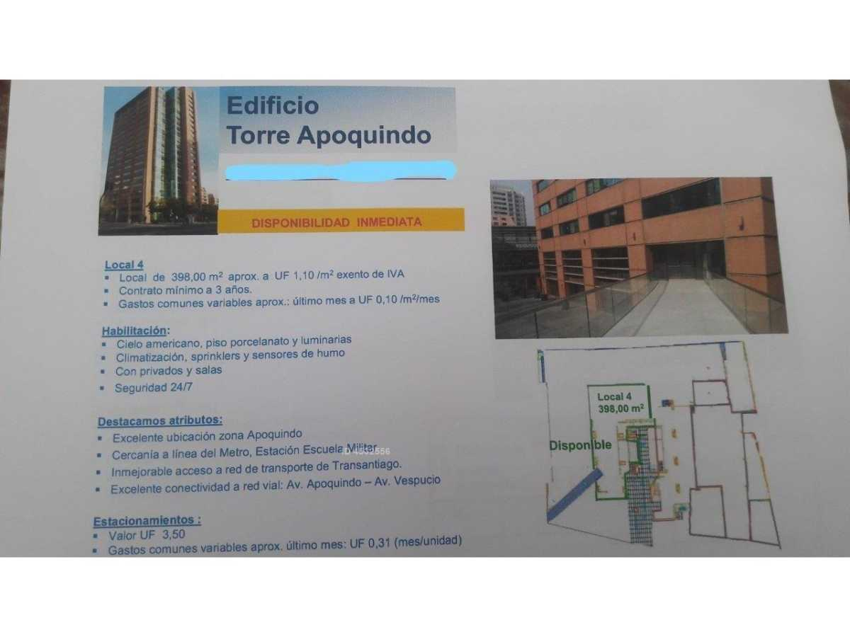 APOQUINDO /PUERTA DEL SOL